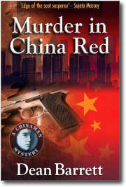 Murder in China Red by Dean Barrett