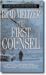 The First Counsel by Brad Meltzer