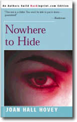Nowehere to HId by Joan Hall Hovey